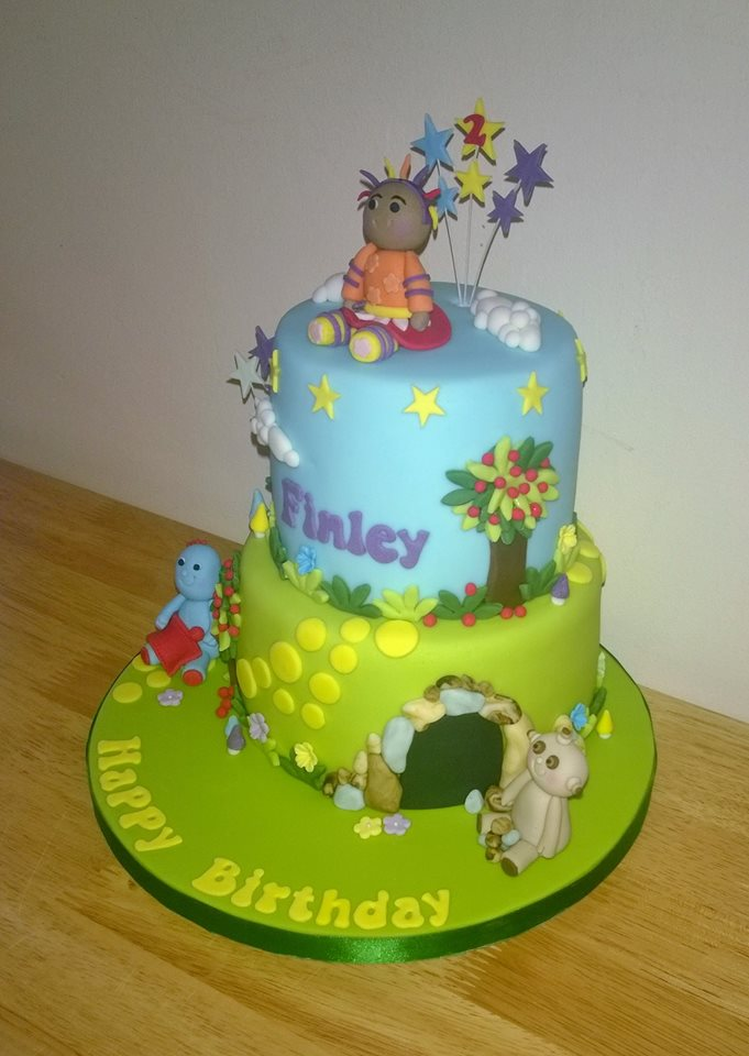 Thomas And Friends Toby Strawberry Cake
